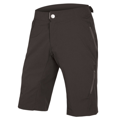 ENDURA SingleTrack Lite Short II: Black - L
