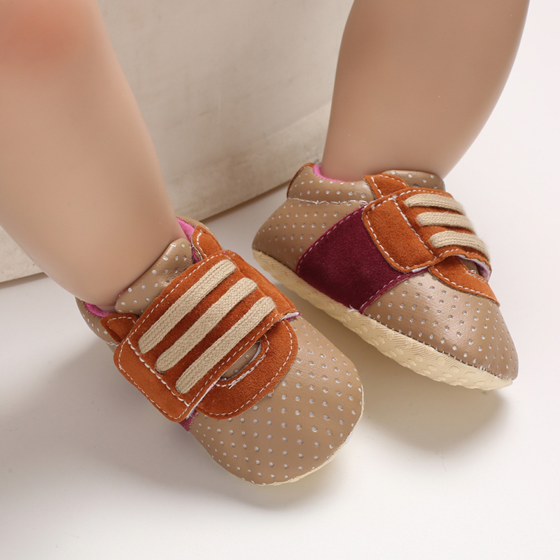 Baby / Toddler Casual Polka Dots Velcro Prewalker Shoes