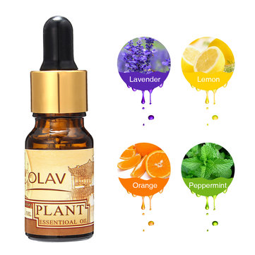 Plant Essential Oil Lavender Lemon Orange Peppermint Aroma Humidifier Aromatherapy Air Fresher