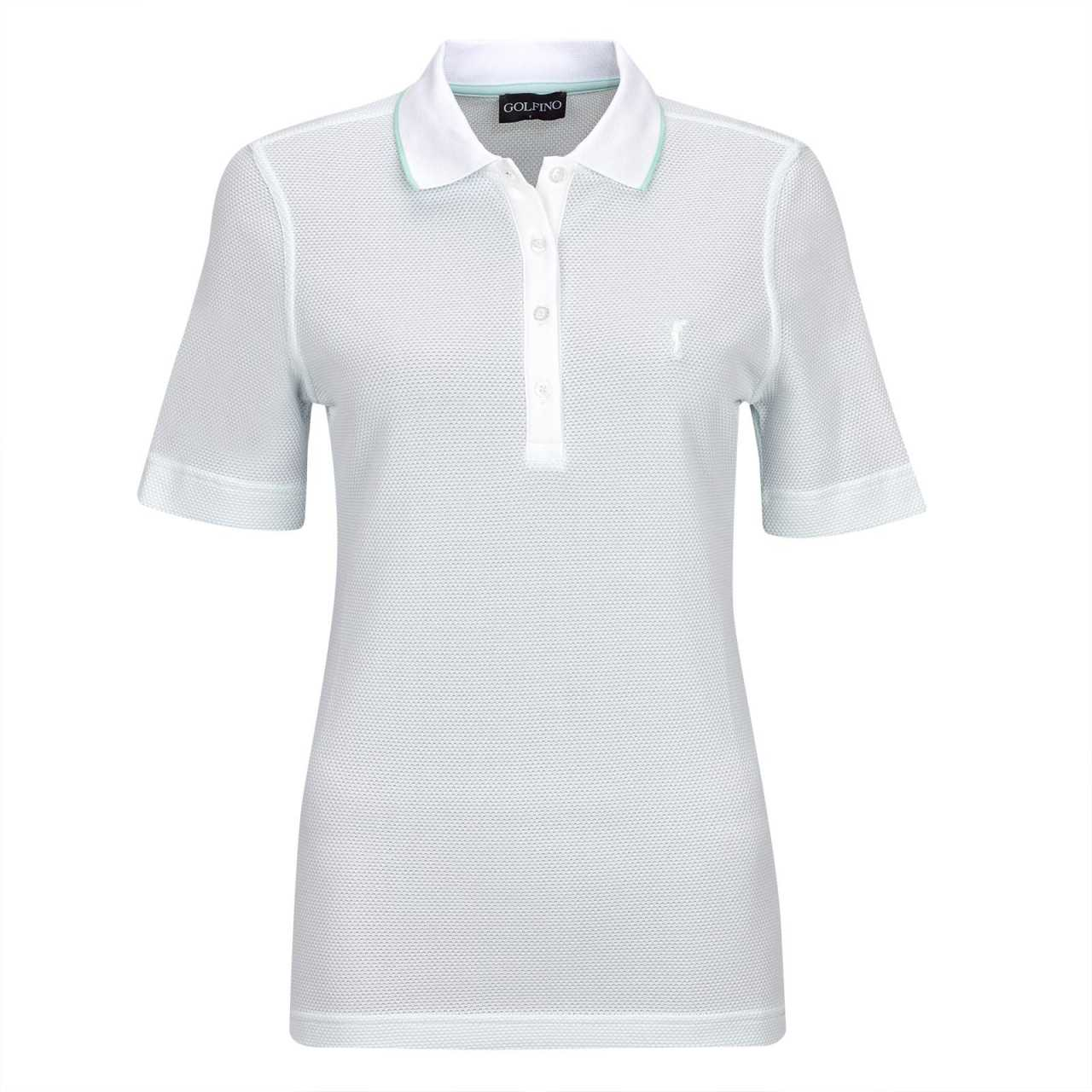 Golfino Mercedes Short Sleeve Polo Damen hellgrün