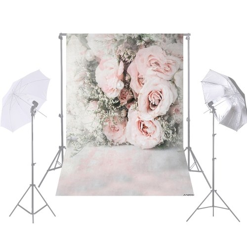 Andoer 1.5 * 2.1m / 5 * 7ft Photography Background Backdrop Photo Studio Pros