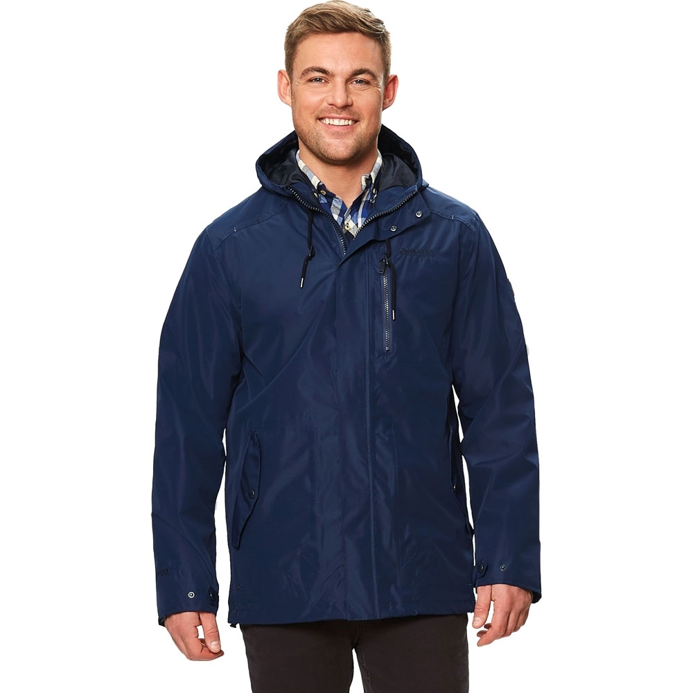 Regatta Mens Boman Breathable Hooded Isotex Waterproof Coat Jacket M - Chest 39-40' (99-101.5cm)