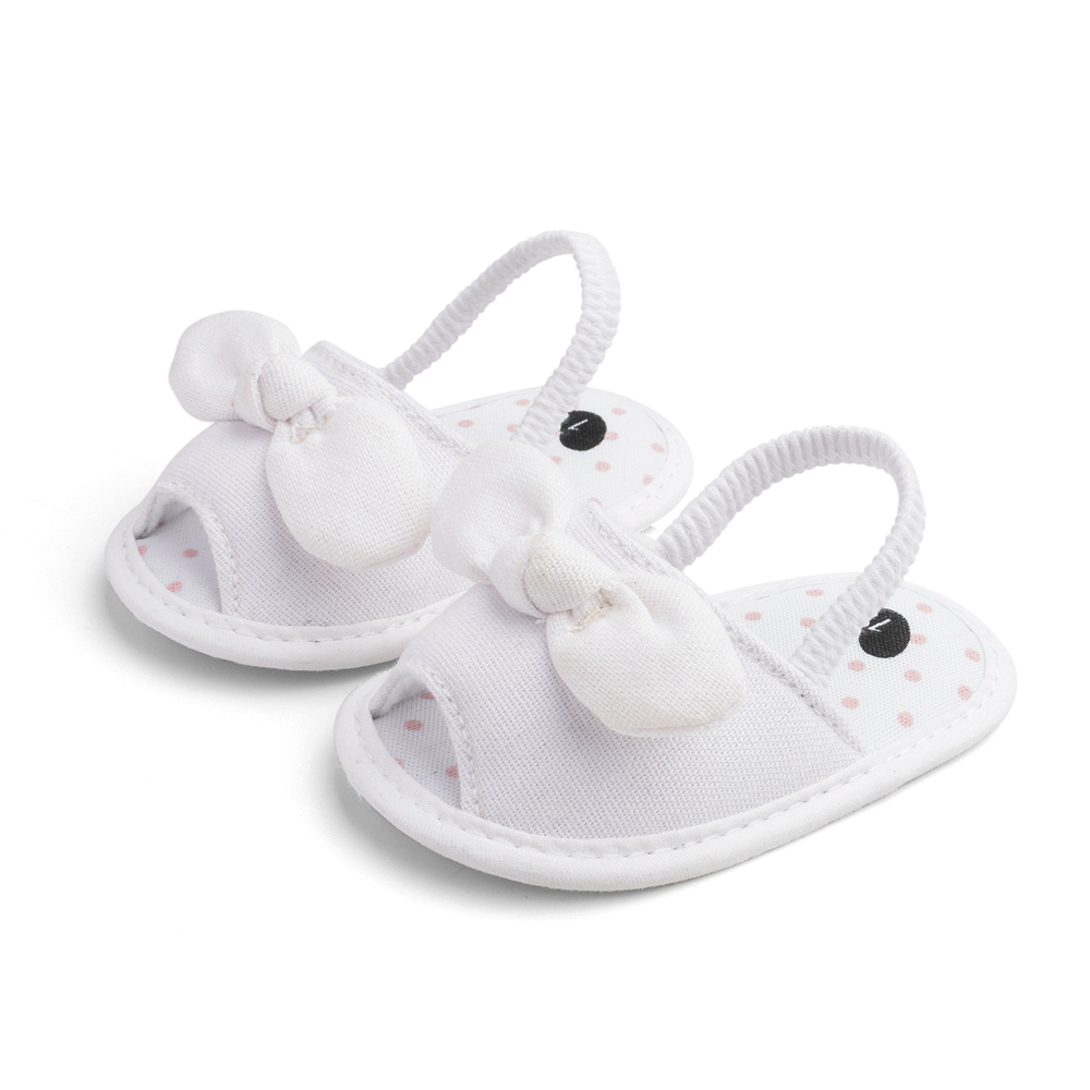 Baby / Toddler Bowknot Solid Prewalker Sandals