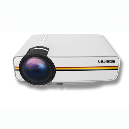 YG410 LCD Portable Mini HD Wired Projector for Home Theatre More Stable Optional Plug Relaxing Your Eyes