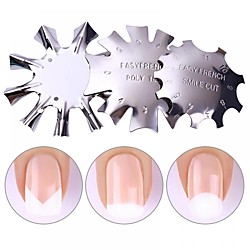 Three-piece Suit Nail Art Accessories Painting Durable Metallic Personalized Artistic Style Daily Diecut Manicure Stencil for Finger Nail Toe Nail