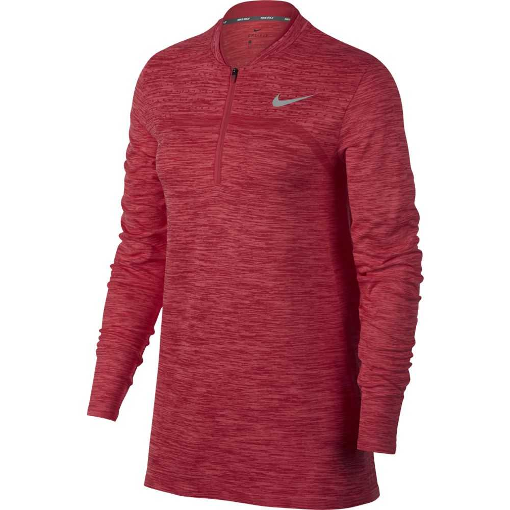Nike Dry Golf Top Layer Damen rot