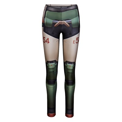 Overwatch Bastion Leggings by Wild Bangarang - Womens