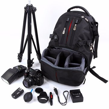 Nylon Waterproof Shockproof Camera Laptop Bag