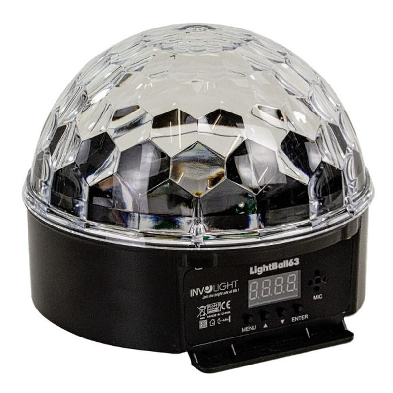 INVOLIGHT LightBall63 LED Lichteffekt mit 6x 3 Watt RGB LEDs, DMX