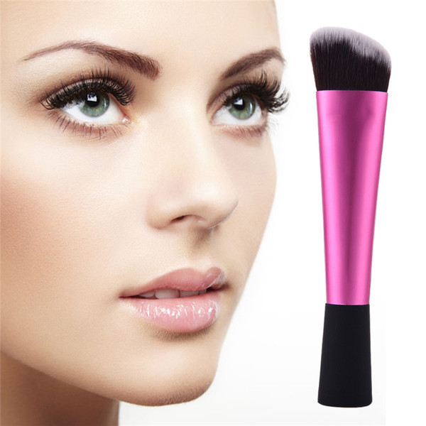 wholesale- stage home make up brush powder foundation sculpting bevel trimming makeup brushes pincel maquiagem tools ing