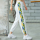 Women's High Waist Jogger Pants Joggers Running Pants Track Pants Sports Pants Sports Bottoms Running Jogging Training Breathable Quick Dry Soft 3D Print White Black / Stretchy / Butt Lift