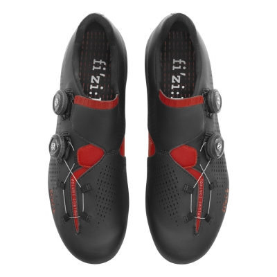 FIZIK R1 Infinito Road Shoes Black/Red 46