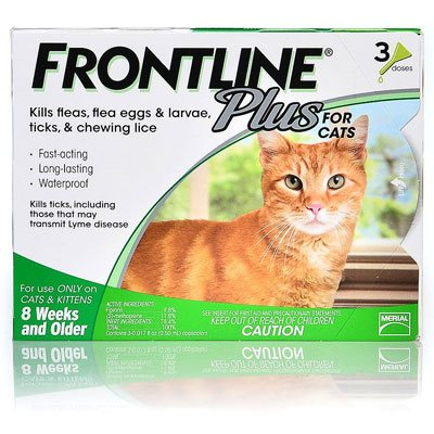 Frontline Plus For Cats 12 Doses