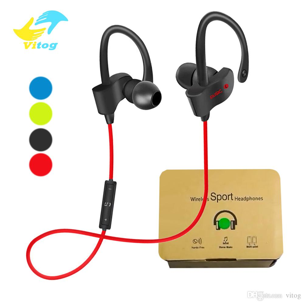 56S Wireless Bluetooth headphones Waterproof IPX5 Headphones Sport Running Headset Stereo Bass Earbuds Handsfree With Mic
