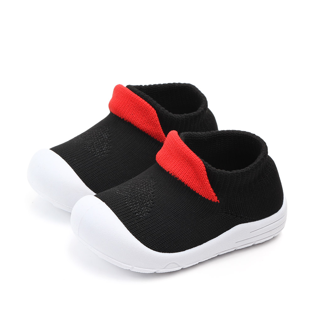 Toddler Trendy Colorblock Fly-knit Athletic Shoes