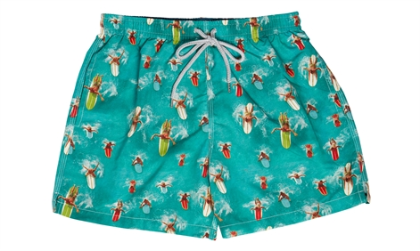 'Life's A Beach' Surfers Superior Quality Swim Short