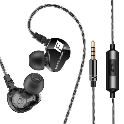 QKZ CK9 3.5mm Wired In-ear Headphone