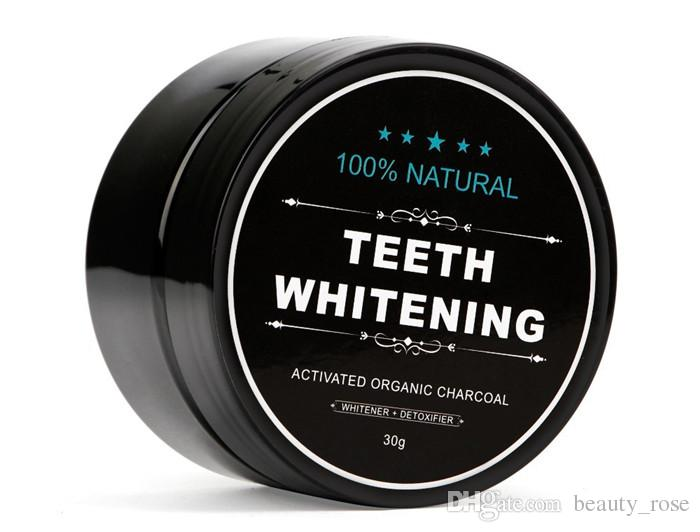 Natural Teeth Whitening Powder Activated Organic Charcoal Stain Remover Tooth cleaning Epacket Free
