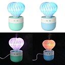 Blue Prickly Pear Humidifier Mini USB Air Purifier Colorful Night Light Atomizer Humidifier Small Gifts