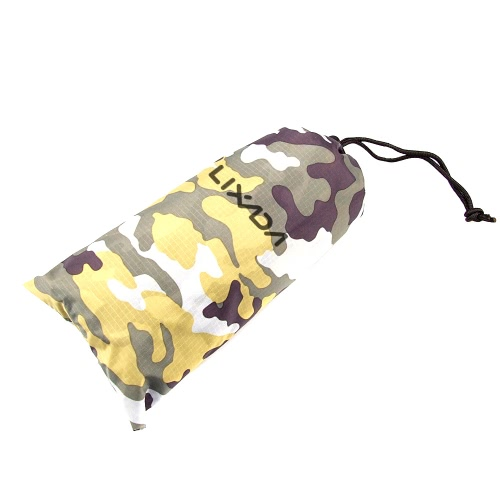 Lixada 3 in 1 Multifunctional Outdoor Military Travel Camouflage Raincoat