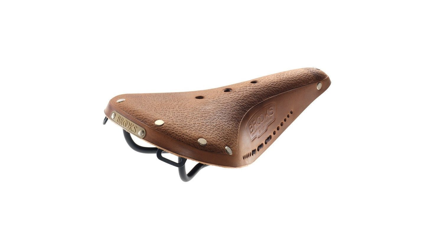 Brooks B17 Standard- Aged Leder dark-tan, Herren-Sattel dark tan