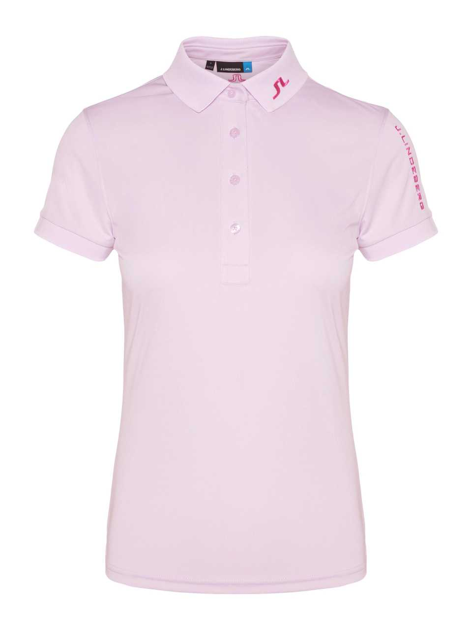 J. Lindeberg Tour Tech Tx Polo Damen rosa