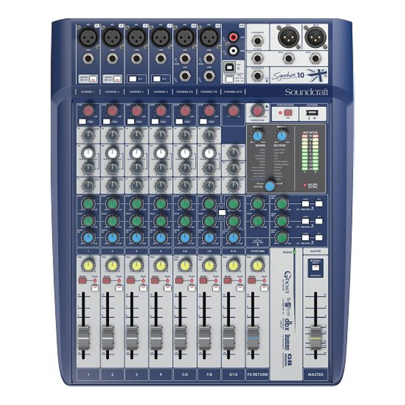 Soundcraft Signature 10 Kompaktmixer