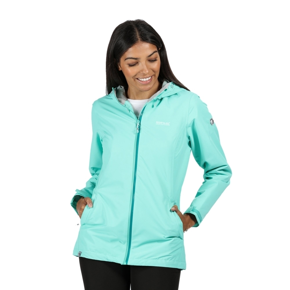 Regatta Womens Hamara III Waterproof Breathable Durable Coat 12 - Bust 36' (92cm)