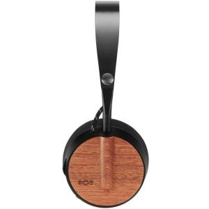 The House Of Marley House of Marley Buffalo Soldier - Kopfhörer mit Mikrofon - On-Ear - Bluetooth - kabellos, kabelgebunden - Unterschrift schwarz (EM-JH091-SB)