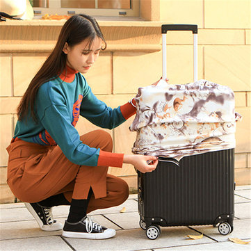 Abstraction Chinese Style Elastic Luggage Cover