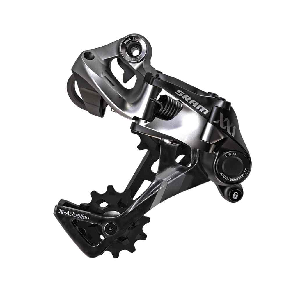 SRAM XX1, 11 Speed Rear Derailleur-Black