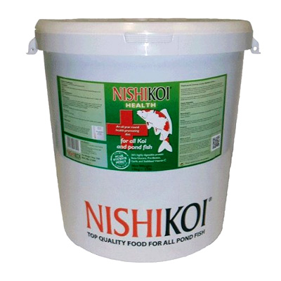 Nishikoi Health Food 10kg Pellets (Medium)