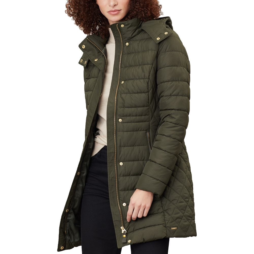 Joules Womens Thirlmere Longline Hooded Padded Coat Jacket UK 20- Chest 47'  (114cm)