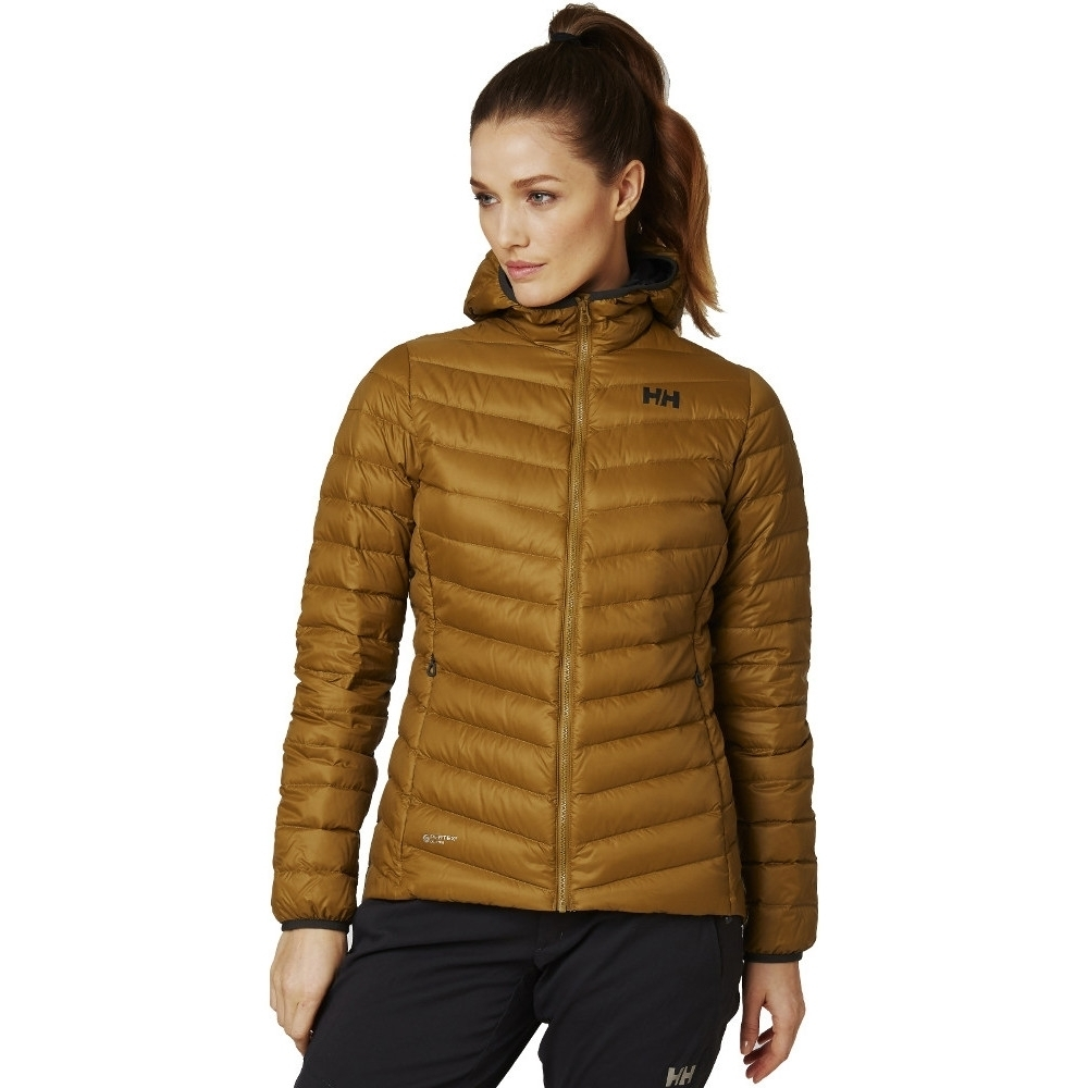 Helly Hansen Womens Verglas Hooded Warm Insulated Down Coat M- Chest 35.5-38' (90-96cm)