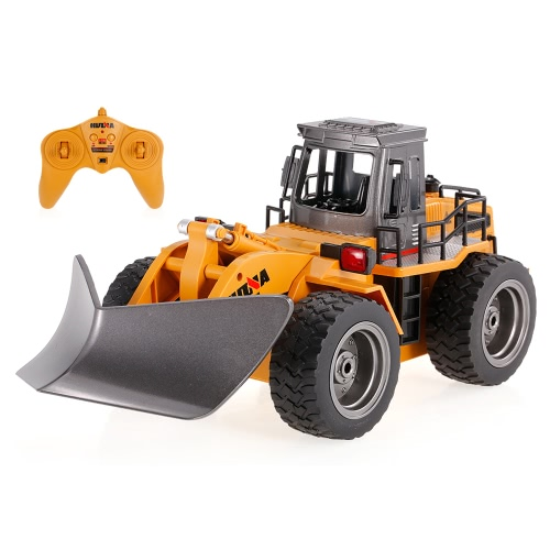HUI NA JUGUETES 1586 1/18 2.4Ghz 6CH Snow Sweeper Ingeniería RC coche coche juguetes regalo