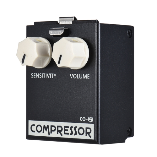 BIYANG LiveMaster Series CO-151 Analog Compressor Compress Guitar Effect Pedal Module True Bypass