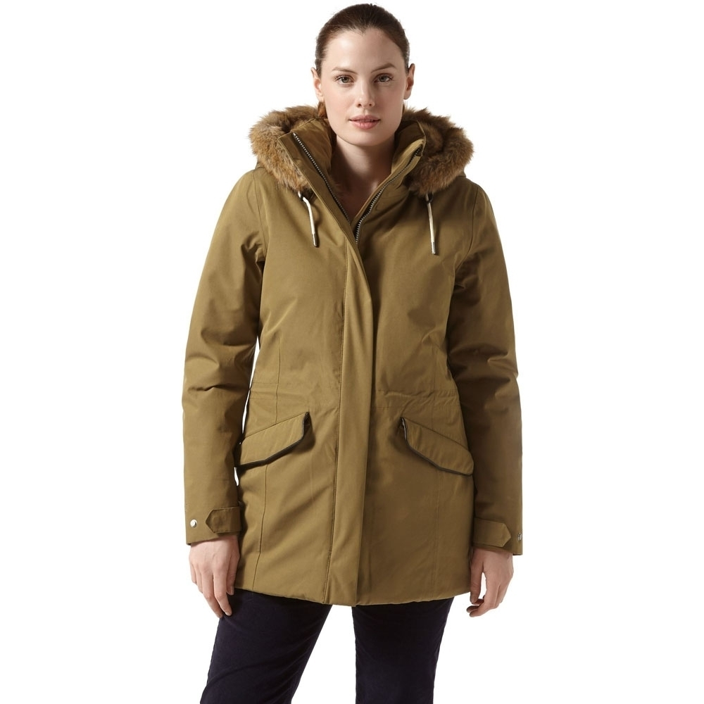 Craghoppers Womens/Ladies Josefine Water Resistant Insulated Walking Jacket 8 - Bust 32' (81cm)