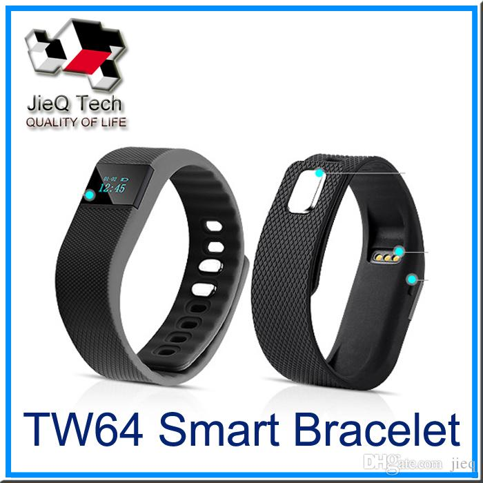 TW64 Smart Bracelet Bluetooth Smart Wristbands smart watch Waterproof & Passometer & Sleep Tracker Function for Apple Android ios system-001