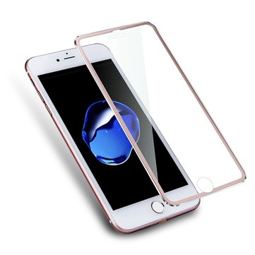 Bakeey™ Titanium Alloy 3D Arc Edge 9H 0.26m Tempered Glass Screen Protector for iPhone 7 Plus