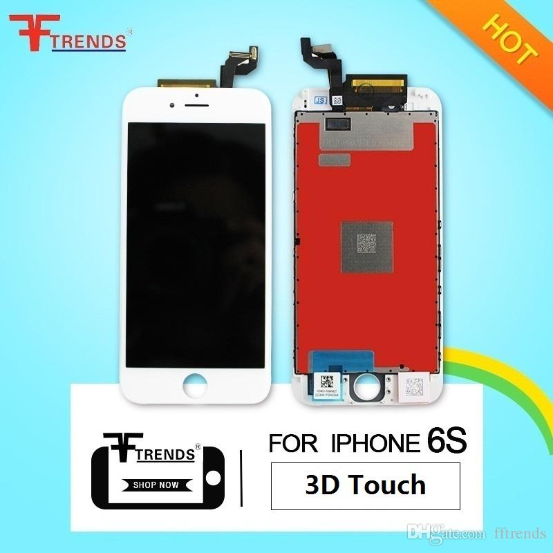 LCD Touch Screen Digitizer Frame Assembly Replacement For iPhone 6S OEM with 3D Touch High Quality Black White