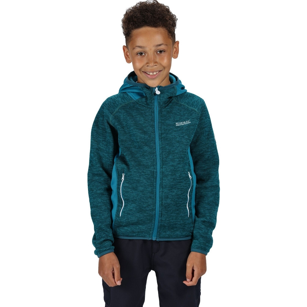 Regatta Boys & Girls Dissolver II Polyester Fleece Jacket 3-4 Years - Chest 55-57cm