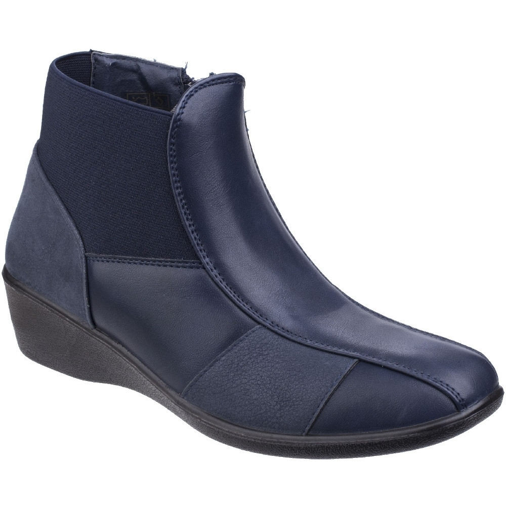 Fleet & Foster Womens/Ladies Festa Pull On Zipped Casual Ankle Boots UK Size 9 (EU 42)