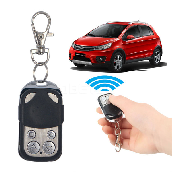 universal electric wireless auto remote control cloning universal gate garage door control fob 433mhz 433.92mhz key keychain remote control