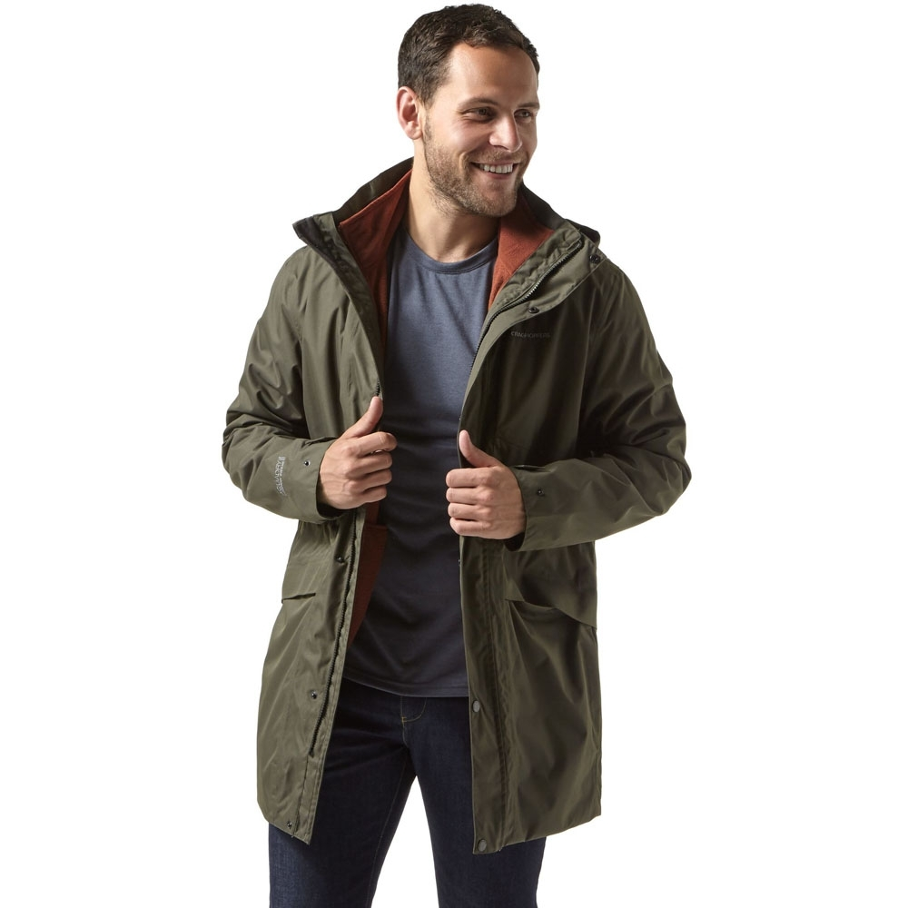 Craghoppers Mens Herston Insulated Waterproof 3 in 1 Jacket L - Chest 42' (107cm)