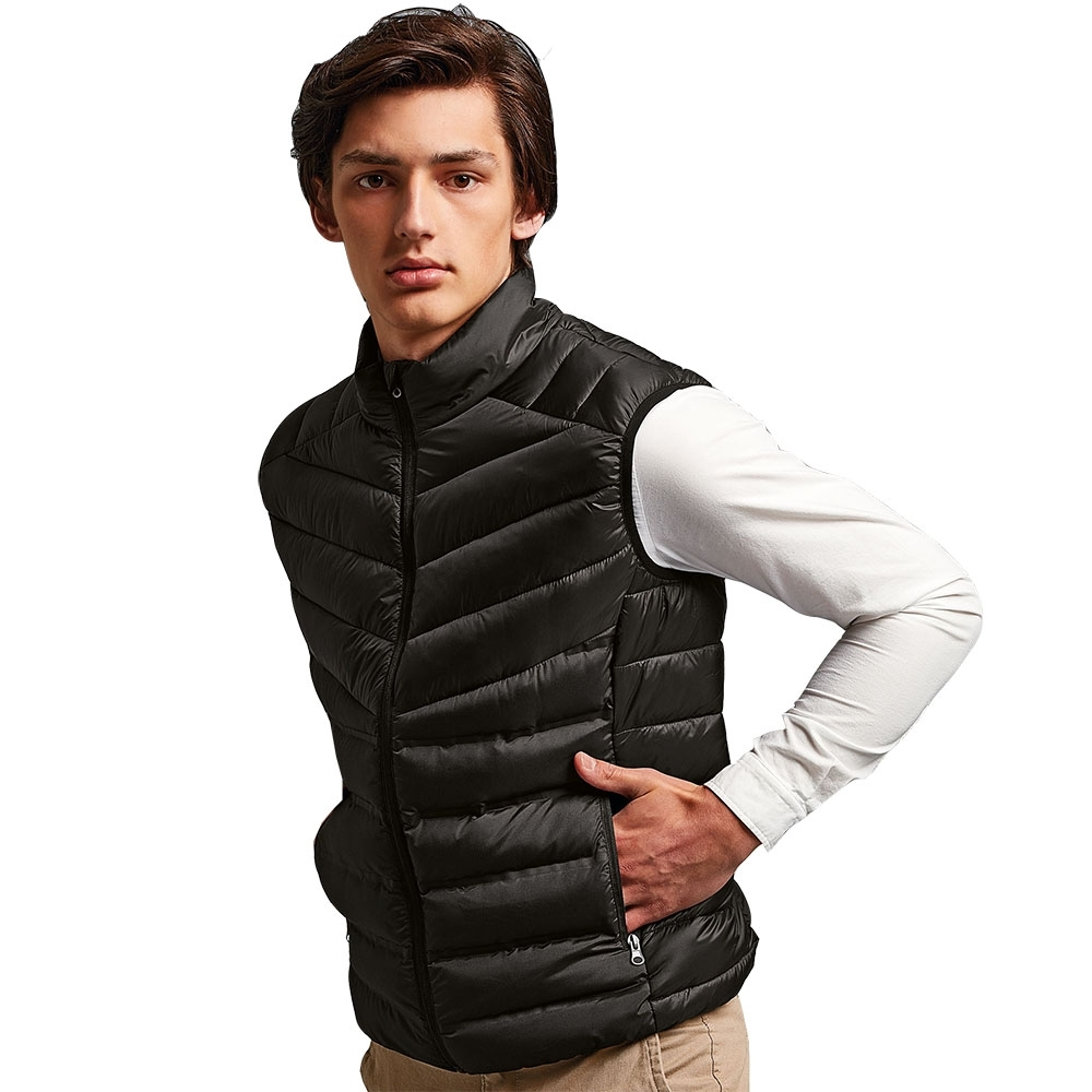 Outdoor Look Mens Mantel Moulded Quilted Bodywarmer Gilet M- Chest 41'
