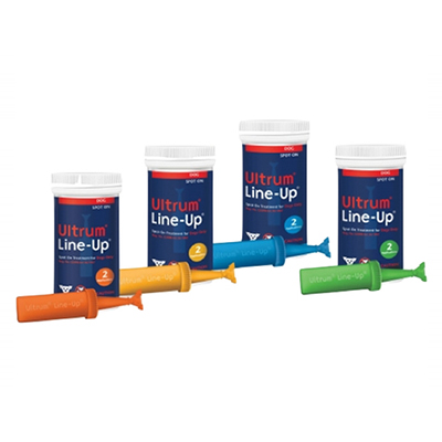 Ultrum Line-Up Spot-On For Extra Large Dogs Over 88 Lbs (Orange) 2 Pack