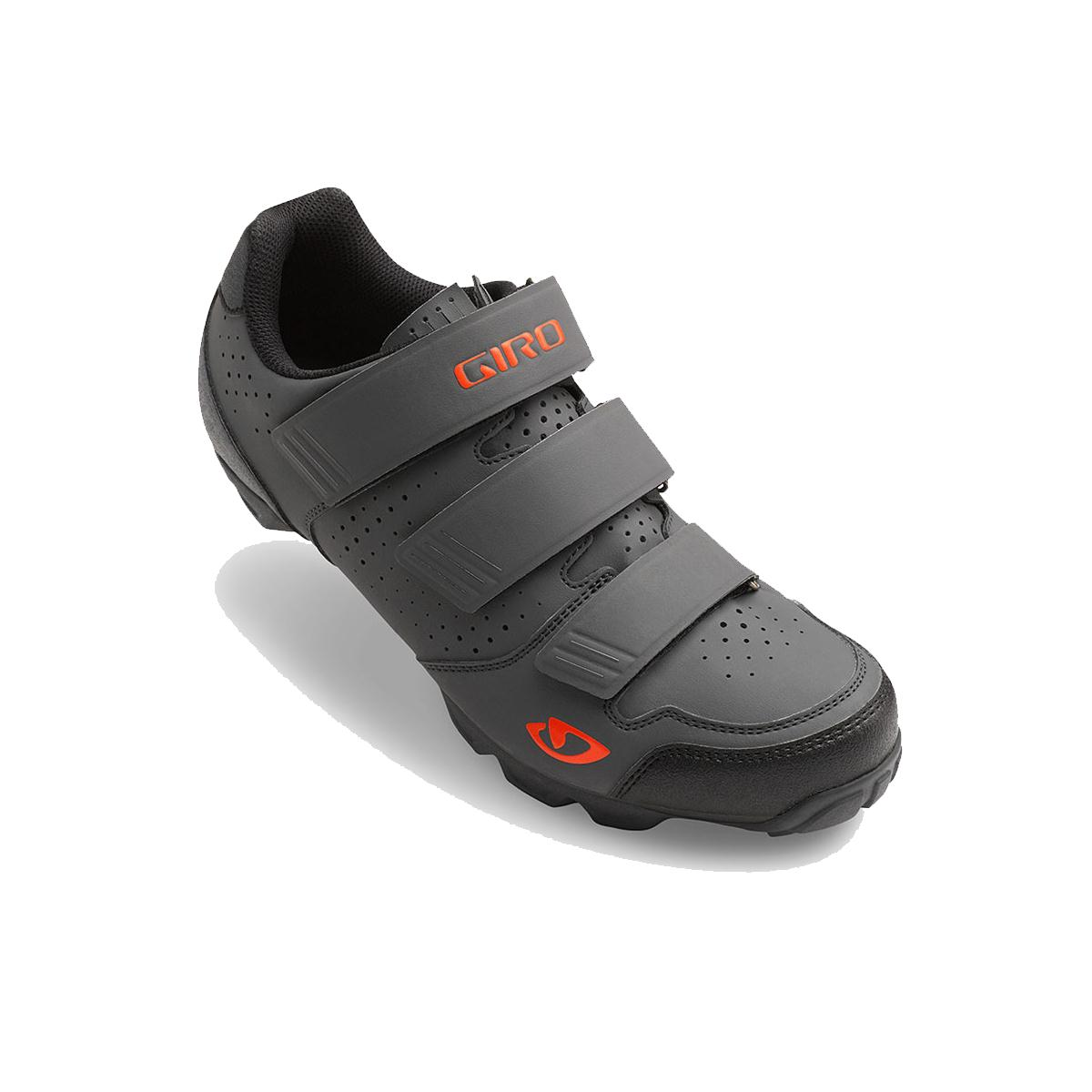 GIRO Carbide R MTB Cycling Shoes 2016 Dark Shadow/Flame Orange 41