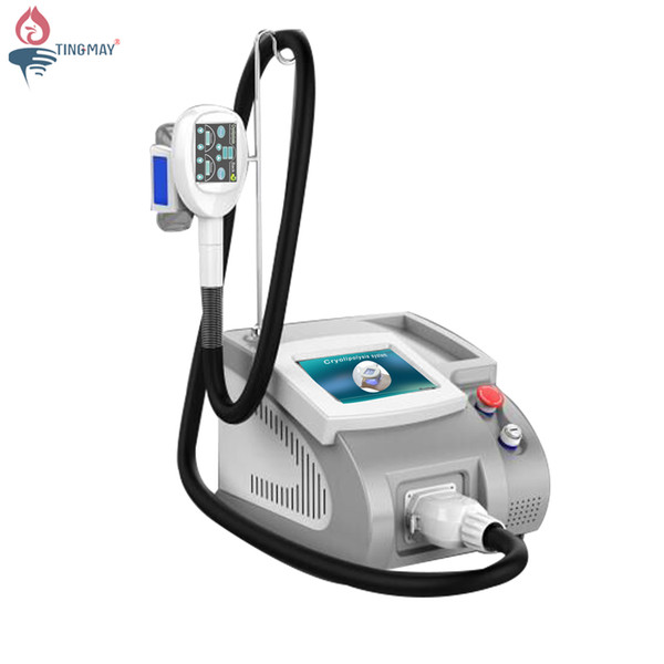 2019 home use selling portable one vaccum cryolipolysis handle fat ing body slimming weight loss machine tm-920