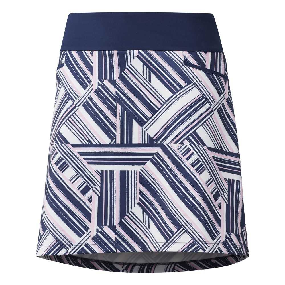 Adidas Ultimate Printed Skirt Damen navy/pink