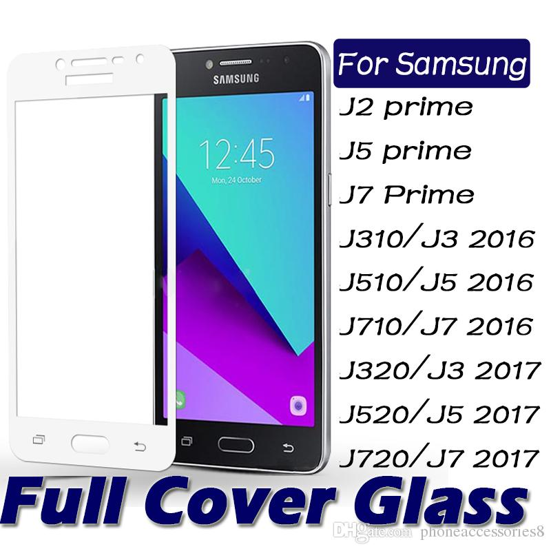 for samsung galaxy J3 J5 J7 2016 / J3 J5 J7 2017 J2 PRIME J5PRIME J7PRIME Full Cover Tempered Glass Screen protector